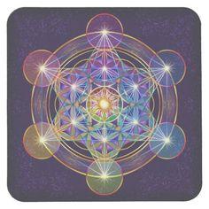 Details about flower of life sticker metatron's cube mandala sacred geometry hexagram Art Fractal, Art Visionnaire, Sacred Geometry Symbols, Magic Circle, Visionary Art, Sacred Art, Psychedelic Art, Art Pages, Geometric Art