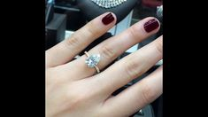 3 carat Pear Shape Moissanite 2-Tone Engagement Ring - YouTube