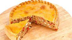 #Recetas #Gastronomía Pastel de atún http://milagil.com/cocina-facil-y-rapida/atun-en-pastel-para-plato-principal/