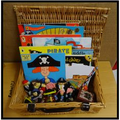 "Pirates story basket from Rachel ("",)"
