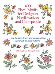 Includes rare Victorian-era floral borders, corners and centers, wreaths, delicate sprays, allover patterns, lovely compositions with birds and butterflies, and more, conveniently arranged according to type. Includes index of uses.