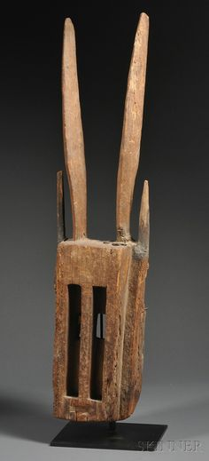 skinnerinc African Masks, African Art, Masks Art, Tribal Art, Helmets, Ghosts, Headdress, Wood Carving, Rabbit