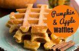 Coach Nicole's Pumpkin & Apple Waffles