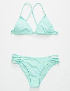 Shop Womens Swimwear Beachwear at Trendy Bikinis, Cute Bikinis, Swimsuits For Teens, Cute Swimsuits, Roxy Bikini, Bikini Set, Outfits For Teens, Trendy Outfits, Beachwear