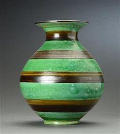 Vare: 4329789Kähler. Vase af lertøj