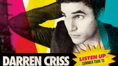 His first North American tour SOLD OUT! | Community Post: 15 Times Darren Criss OWNED 2013