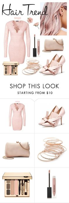 """Hair Trend - Contest Entry"" by pytricia on Polyvore featuring beauty, LC Lauren Conrad, Red Camel, Burberry and 1928"