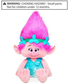 "Epic Threads Trolls 36"" Big Poppy Plush Doll by DreamWorks, Only at Macy's"