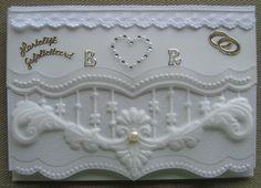 M.K - enveloppe voor trouw, achterkant