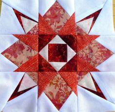 Fun LBQ Starburst Quilt Along: Block #8 Pattern by Honey, Bunny, and Doll. (Pattern free through Jan 14th!)