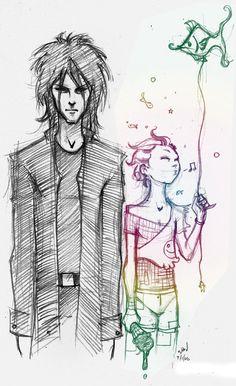 Dream and Delirium (Gaiman's Sandman)  by ~imaginarium