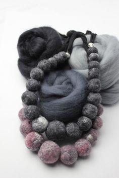 Tara M. Designs, I design and make hats, fiber arts, eco prints, textiles and accessories. Felt Necklace, Crochet Necklace, Tara M, Fiber Art, My Design, Textiles, Necklaces, Hats, Prints