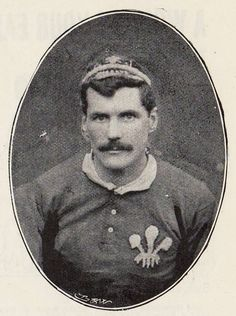 Jan.9th. 1887: Wales 11-0 England ...  Arthur Gould (above), lead Wales for the last time to an 11-0 win over England at Newport's Rodney Parade. He retired with 27 Welsh caps (capt 18 times) under a cloud of controversy. A testimonial organised by fans raised hundreds of pounds, apparently contravening IFRB rules on professionalism. After a protracted row, Wales withdrew from international fixtures in 1897, returning to play the England fixture the following season.