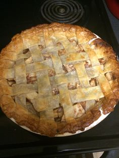 First time making Apple pie!