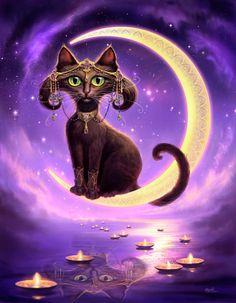 Luna Painting  - Luna Fine Art Print