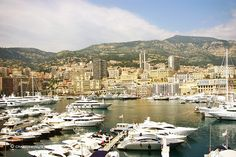 Poprt Hercule in Monaco; the superyacht paradise