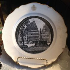 1970s Villeroy & Boch Dresden  Limited Edition by BuyfromGroovy