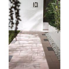 Pavé carrossable multi formats Garonne Les Exclusifs nuancé ivoire saumon 30x30x6,3 cm, 30x45x6,3 cm, 30x15x6,3 cm - LES EXCLUSIFS - Décoration extérieure - Distributeur de matériaux de construction - Point.P
