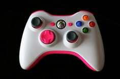 White & Pink Xbox Controller!