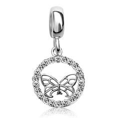 8985593d7 JMQJewelry Butterfly Dangle Crystal Charms Beads Bracelets >>> We do hope  you actually love