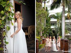 Leza and Graham's Destination Wedding In Palm Cove - Gemma Clarke Photography Tropical Weddings, Wedding Vendors, Vows, Graham, Bridesmaids, Destination Wedding, Palm, Bridal, Wedding Dresses