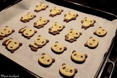 Mlsná kuchyně: Panda sušenky (vykrajovátka z ebay)