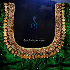 Kids Blouse Designs, Simple Blouse Designs, Stylish Blouse Design, Bridal Blouse Designs, Blouse Neck Designs, Hand Designs, Mirror Work Blouse Design, Pattu Saree Blouse Designs, Sari Blouse