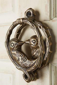 Etonnant Of A Feather Door Knocker