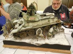 TRACK-LINK / Gallery / Military Miniature Society of Illinois 2015 - Dioramas