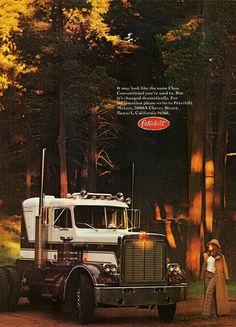 https://flic.kr/p/8fgS7v   1973 Peterbilt Truck Ad Peterbilt 359, Peterbilt Trucks, Ford Trucks, Heavy Duty Trucks, Heavy Truck, Semi Trucks, Big Trucks, Trucks And Girls, Tow Truck