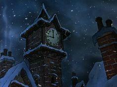 Animation Backgrounds: MICKEY'S CHRISTMAS CAROL