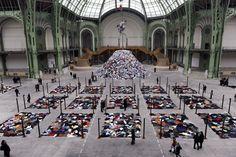 Christian Boltanski exhibit at Grand Palais, Paris 2010