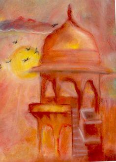 Jaigarh fort sunset jaipur drawing #drawing #draw #sunset #jaigarh #building Drawing Drawing, Jaipur, Sunsets, Drawings, Building, Painting, Art, Art Background, Buildings