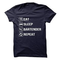 Awesome Bartender - #mens #cool t shirts for men. TRY => https://www.sunfrog.com/Funny/Awesome-Bartender-68525026-Guys.html?60505