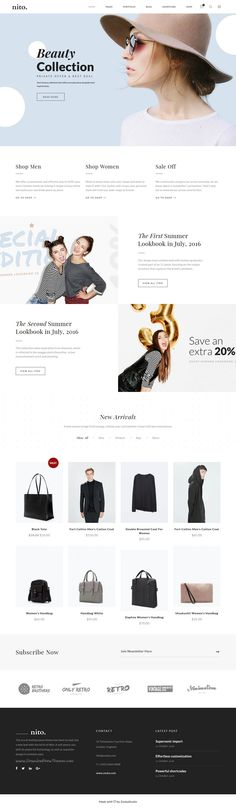 Nito is a clean and minimal multipurpose #WordPress theme for #fashion #store #website with 21+ unique homepage layouts download now➩ https://themeforest.net/item/nito-a-clean-minimal-multipurpose-wordpress-theme/17897172?ref=Datasata