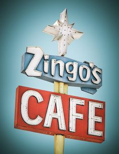 Zingo's Cafe by Shakes The Clown, via Flickr