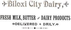 Knick of Time: Biloxi City Dairy