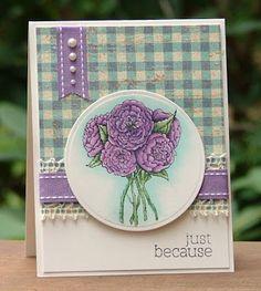 The Paper Landscaper: FTTC184 Purple & Blue