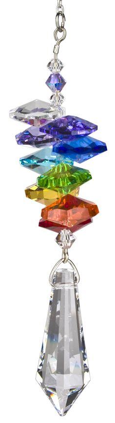 Crystal Rainbow Cascade Icicle Rainbow Maker | Gift Ideas & Quick Ship