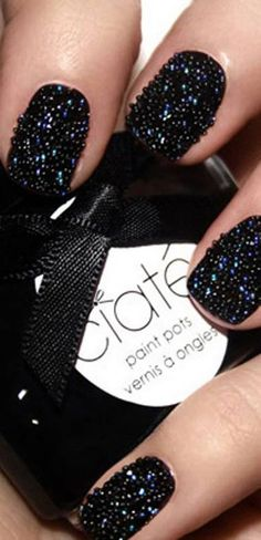 "We love: Pearly Queens    Those who are less than steady of hand will be able to hide any smudges and smears with this new at home ""caviar manicure"" in which tiny pearls are pressed into wet polish.    £18, ciaté.co.uk"