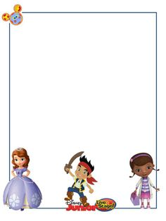 """Disney Junior Live on Stage - Project Life Journal Card - Scrapbooking ~~~~~~~~~ Size: 3x4"""" @ 300 dpi. This card is **Personal use only - NOT for sale/resale** Logo/clipart belongs to Disney. *** Click through to photobucket for more versions of this card ***"""