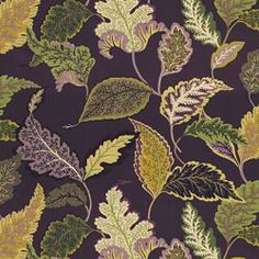 NOISETTE AUBERGINE - Floral/Foliage - Shop By Pattern - Fabric - Calico Corners