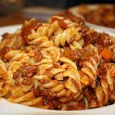 Italian food is one of my favorites, and out of all the sauce recipes I have tried, this one is just on a level all it's own. Rich and hearty, it's everything a good Bolognese should be and more.