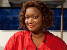 Get to know Food Network star Sunny Anderson, who will be appearing on the new season of Chopped All-Stars. Food Network Star, Food Network Recipes, Sunny Anderson, All Star, Sunnies, Stars, Chefs, Clothes, Cooking