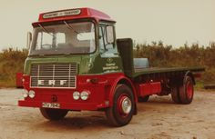 One of my favourite ERF trucks, Vintage Trucks, Old Trucks, Classic Trucks, Classic Cars, Old Lorries, Commercial Vehicle, Buses, Cars And Motorcycles, Tractors