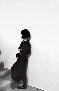 Rei Kawakubo by Paul van Riel, 1982  [ Lucid. Minimal Style. The CV ]