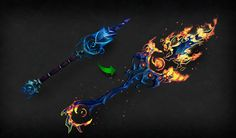 World of Warcraft: Legion Artifact Weapons revealed - GameZone World Of Warcraft Legion, Concept Weapons, New Years Eve Party, Game Art, Cool Pictures, Hand Painted, Cool Stuff, Arsenal, Modeling