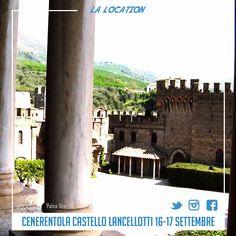 Cenerentola al Castello Lancellotti  16-17 settembre 2017  #ildemiurgo #magiaè #cenerentolaalcastellolancellotti #palco11zero8 #BibbidiBobbidiBu #lauro
