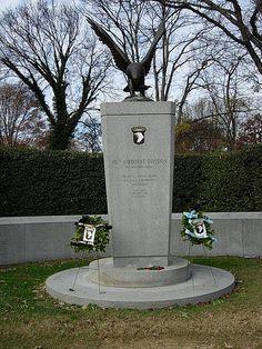 101st Airborne Screaming Eagles Memorial in Arlington, VA
