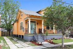 3925 General Taylor St, NOLA 70125  cute vibrant color and awesome gate